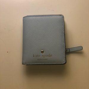 Light blue Kate Spade wallet